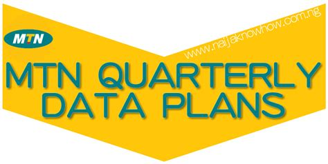 mtn mobile data mtn quarterly data plans png naijaknowhow
