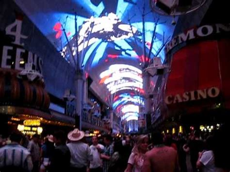 Ceiling Light Show Downtown Las Vegas Ceiling Light Show Television Like Screen
