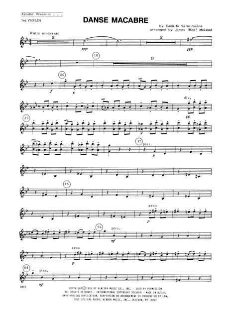 camille saint saëns danse macabre midi sheet music digital files to print licensed camille