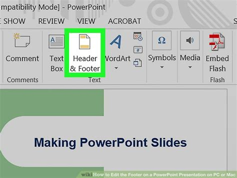how to update footer in powerpoint powerpoint template edit footer image collections