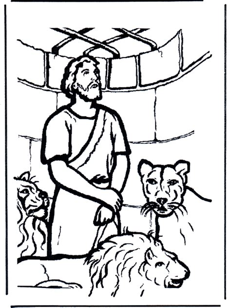 daniel in the s den coloring page daniel and the lions den coloring pages coloring home