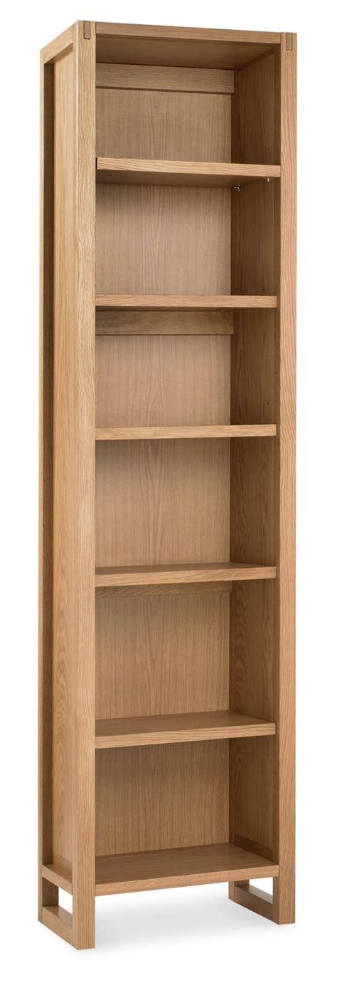 bentley designs studio oak single bookcase morale home