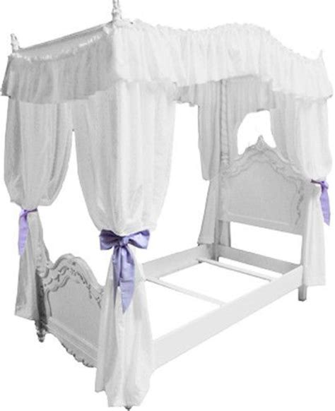 twin canopy bed curtains pinterest