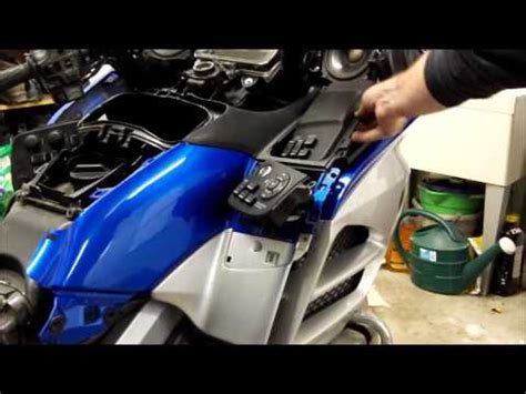 gl1800 air filter removal youtube