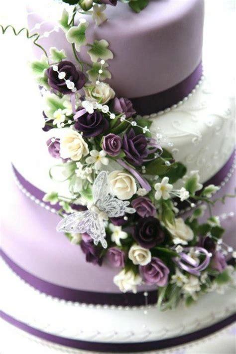 Hochzeitstorte Violett by Lila Hochzeitstorte Ideen Violette Und Purpurrote Muster