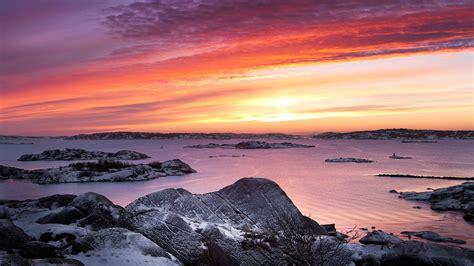 wallpaper west coast  snow gothenburg sweden