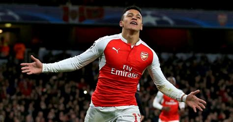 alexis sanchez won chions league sanchez plans tattoo if arsenal win premier league