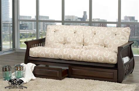 dark wood futon frame ifdc 231 futon
