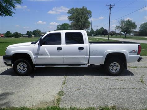 find used 2006 chevrolet silverado 2500hd duramax 6 6l