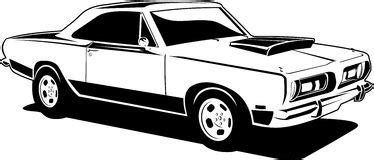 muscle car ilustration stock photography image: 32022202