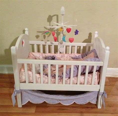 Bitty Baby Crib Bedding Great Complete Retired American Bitty Baby Crib Canopy Mobile Bedding Baby Cribs