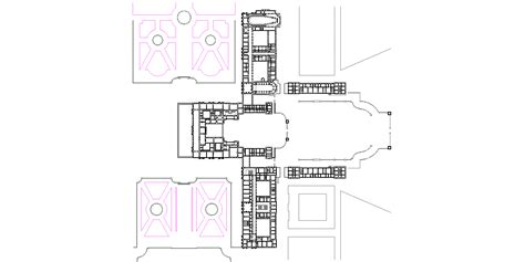 palace of versailles floor plan architectural drawings palace of versailles