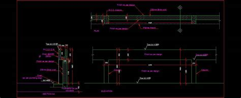 Boundary Wall with in built planter design   Plan n Design