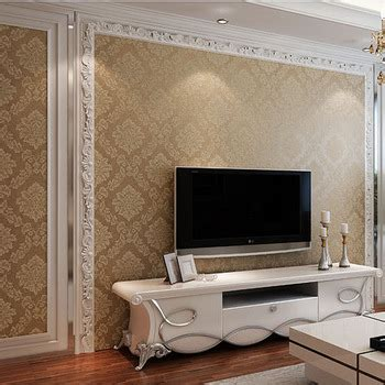 brown wallpaper for living room buy pastoral woven wallpaper spink bedroom living room sofa backdrop stereoscopic 3d