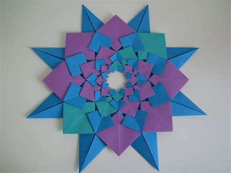 Origami Stuff To Make With Paper - origami quilt things to make with paper