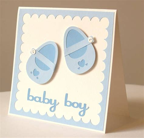 Handmade Baby Cards - handmade baby cards for baby boy card