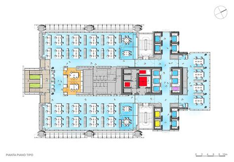 typical office floor plan gallery of intesa sanpaolo office building renzo piano