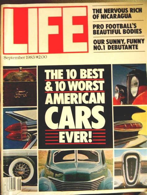 books about cars and how they work 1983 mercedes benz w126 engine control vintage life magazine 10 best worst american cars football pro september 1983 interesting
