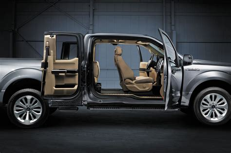 Ford F150 Interior by 2015 Ford F 150 Unveiled Half Ton Truckin