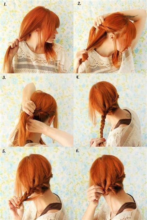 diy hairstyles step by step tumblr diy hair style pictures photos and images for facebook