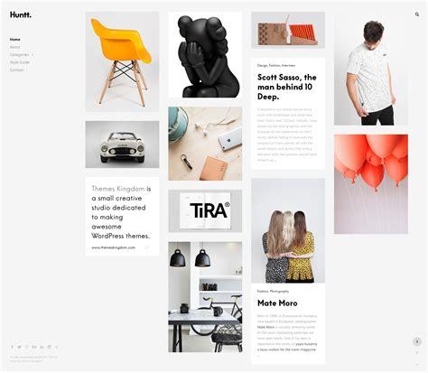 jekyll dynamic layout huntt personal blog portfolio wordpress theme by