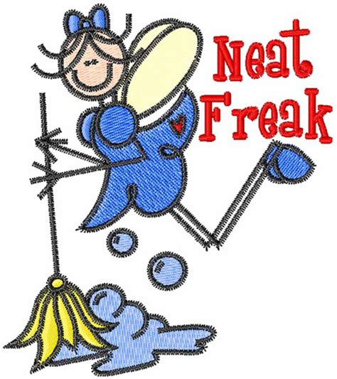 neat freaks neat freak embroidery design annthegran