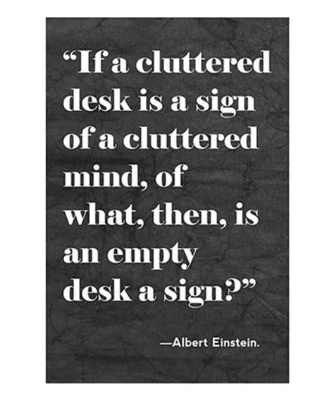 cluttered desk cluttered mind clear desk a oliver gal zulily