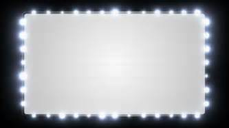 marquee lights marquee lights stock footage