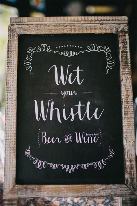 Handmade Wedding Signs - 25 best ideas about wedding bar signs on
