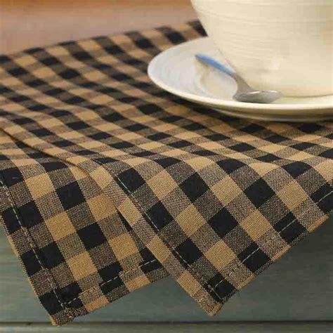natural and black gingham plaid dish towel kitchen natural and black gingham plaid dish towel kitchen