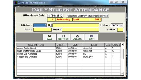 attendance management software free trafficrevizion