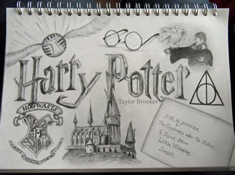 themes related to drawing harry potter by taylorbrooker on deviantart