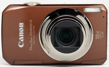 canon powershot sd4500 is review: physical views steves