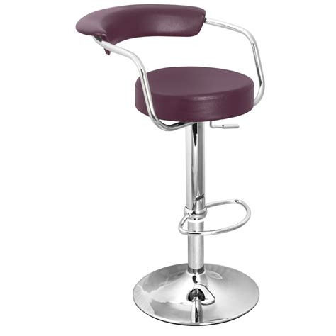 Zenith Bar Stool by Zenith Bar Stool With Arms Purple Size X 370mm X 390mm
