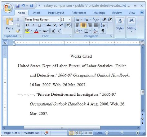 mr sheehy s english website formatting a works cited page