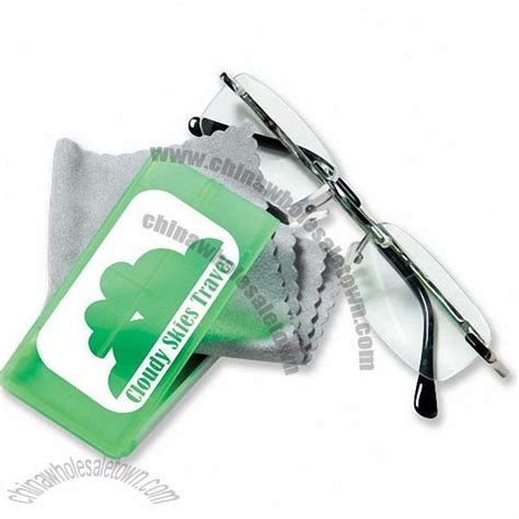 promotional eyeglass cleaning cloth with gift 549168447