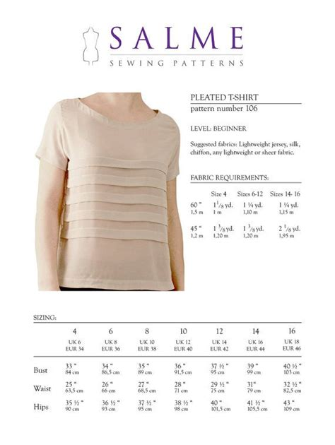 t shirt sewing pattern pdf 19 best casual woven tops t shirts images on pinterest