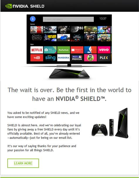 Nvidia Shield Giveaway - nvidia shield almost here as nvidia start launch giveaway drippler apps games