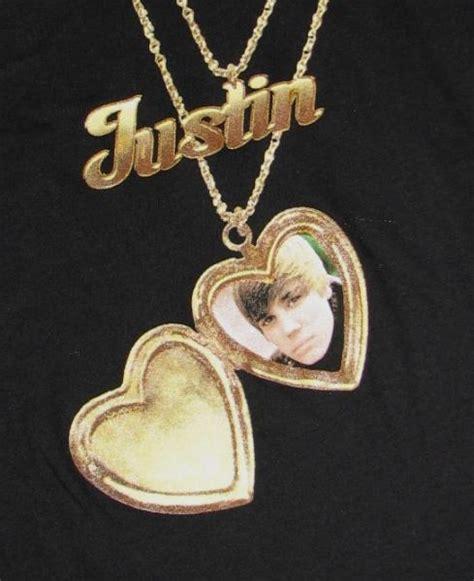 justin bieber licensed necklace teet shirt nwt sz 7 8 ebay