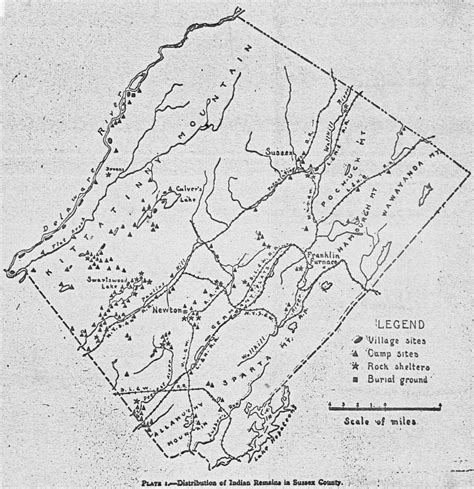 american burial grounds map sussex county s american legacy new jersey herald