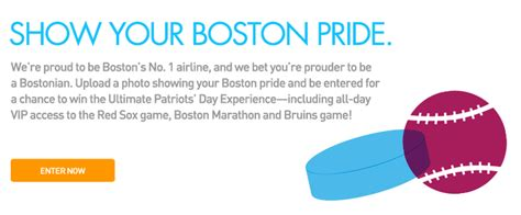 Jetblue Bruins Giveaway - jetblue the ultimate patriots day experience giveaway boston on budget