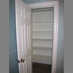 Adjustable Closet Shelving Organized Office Closet