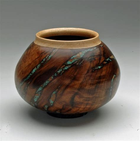 metal inlay techniques for woodturning woodworking 1000 images about wood turnings decor on