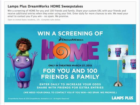 Sweepstakes Plus - ls plus dreamworks home sweepstakes