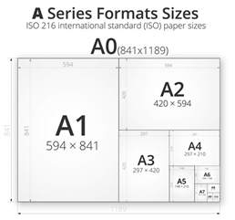 How To Make A4 Size Paper - a series paper sizes a0 a1 a2 a3 a4 a5 a6 a7
