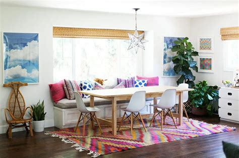 decorate  number california eclectic dining room