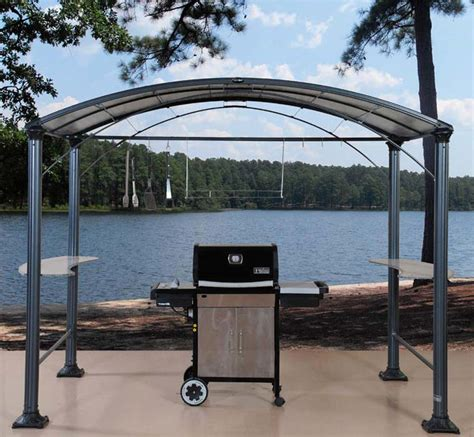outdoor patio grill gazebo gazeboss net ideas designs