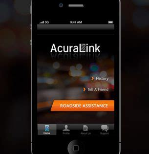 acura introduces roadside assistance app for iphone