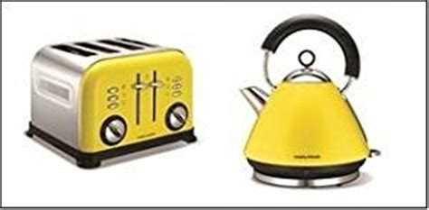Yellow Kettle And Toaster Set yellow pyramid 1 5l kettle and 4 slice toaster co uk kitchen home