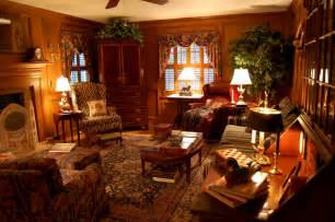 englisches wohnzimmer living room decorated in country style hunt theme